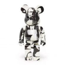 1000% Bearbrick Andy Warhol Double Mona Lisa