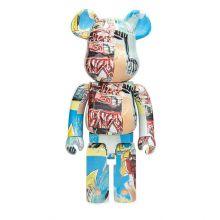 1000% Bearbrick Jean-Michel Basquiat V6
