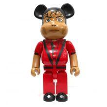 1000% Bearbrick Michael Jackson Thriller's Red Jacket