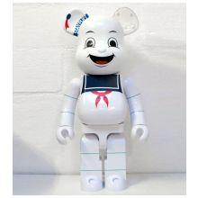 1000% Bearbrick Stay Puft Marshmallow Man (SOS Fantômes)