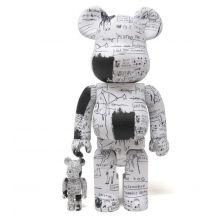 400% + 100%Bearbrick Jean-Michel Basquiat V3