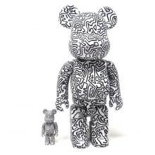 400% +100% Bearbrick Keith Haring V4