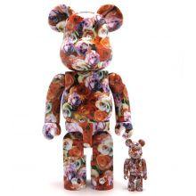 400% + 100% Bearbrick Roses - Mika Ninagawa