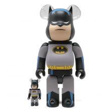 400% + 100% Bearbrick Batman Animated