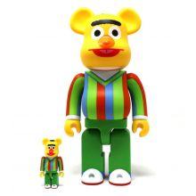 400% + 100% Bearbrick Bert (Sesame Street)