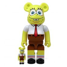 400% + 100% Bearbrick Sponge Bob