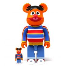 400% + 100% Bearbrick Ernie (Sesame Street)