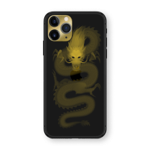 Apple iPhone Shadow Dragon by Hadoro- Yellow