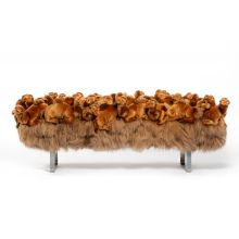 AP Collection New Camel Bench