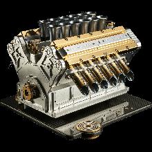 Super Veloce Espresso Machine  Aurum 18CT V12 - Limited Edition