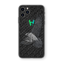 Apple iPhone Hunting Falcon by Hadoro - White Gold
