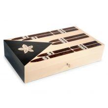 Coffret à cigares Elie Bleu Stars & Stripes Cuba - 110 cigares - Edition Limitée