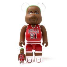 400% + 100% Bearbrick Dennis Rodman (Chicago Bulls)