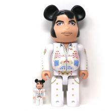 400% + 100% Bearbrick Elvis Presley