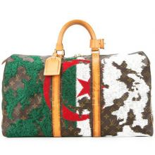 Jay Ahr Embroidery Collection  x The Vintage Louis Vuitton Flag Keepall Algeria