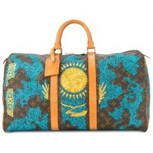 Jay Ahr Embroidery Collection  The Vintage Louis Vuitton Keepall Flag Kazakhstan