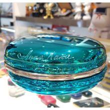Macaron Chrome Bleu Turquoise by Anna Kara
