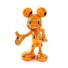 Mickey Welcome Chrome Bronze