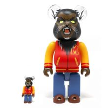 400% +100% Bearbrick Michael Jackson Thriller's Werewolf
