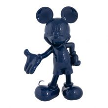 Mickey Welcome Laque Bleu
