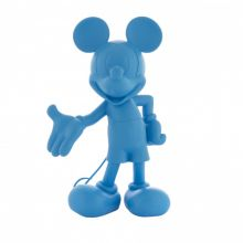 Mickey Welcome Soft Touch Fluo Bleu