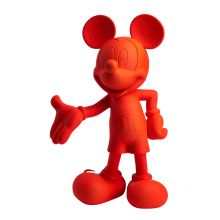 Mickey Welcome Soft Touch Fluo Orange