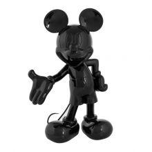 Mickey Welcome Laque Noir