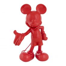 Mickey Welcome Laque Rouge