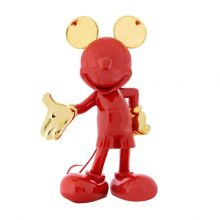 Mickey Welcome Bicolore Red Gold