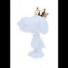 Snoopy Couronne Mat & Chromé Or