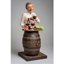 L'Amateur de Vin par Guillermo Forchino