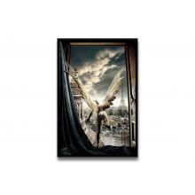 Tableau Un Ange s' évade de Ludovic Baron - Limité à 8 exemplaires