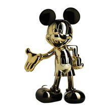 Mickey Welcome Dégradé Noir et Or