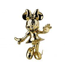 Minnie Welcome Chrome Gold