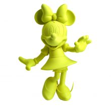 Minnie Welcome Soft Touch Fluo Yellow