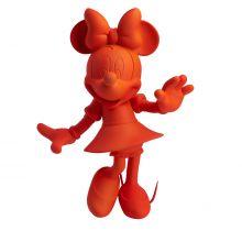 Minnie Welcome Soft Touch Fluo Orange