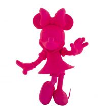 Minnie Welcome Soft Touch Fluo Pink