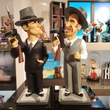 Figurines Borsalino par Saint-Emett