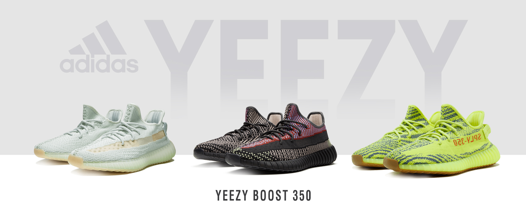 Collection de Sneakers Adidas Yeezy Boost by Kanye West